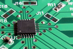 IC mounted on PCB Stock Photos