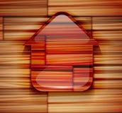Icône à la maison Image stock