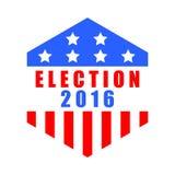 Icône américaine d'élection Image libre de droits