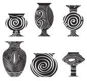 Icône antique de poterie de terre illustration libre de droits