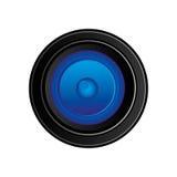 icône arrière de lense d'appareil-photo illustration stock