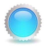 Icône bleue brillante illustration libre de droits