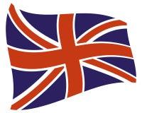 Icône BRITANNIQUE de drapeau de pays image stock