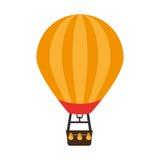 Icône chaude d'air de ballon Image stock
