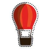Icône chaude d'air de ballon Image libre de droits