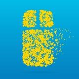 Icône créative de point image libre de droits