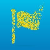 Icône créative de point Photo stock