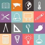Icône d'éducation Photographie stock libre de droits