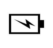 Icône d'énergie de puissance de batterie illustration de vecteur