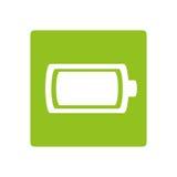Icône d'énergie de puissance de batterie illustration libre de droits