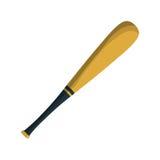 Icône d'équipement de batte de baseball illustration stock