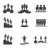 icône d'accomplissement Images stock