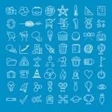 Icône d'affaires de griffonnage Image stock
