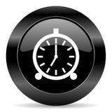 Icône d'alarme Images stock