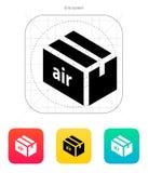 Icône d'alimentation en air. Image stock