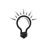 Icône d'ampoule illustration libre de droits