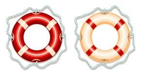 Icône d'anneau de vie Illustration Libre de Droits