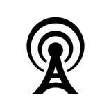 Icône d'antenne illustration stock