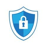 Icône d'antivirus Photos libres de droits