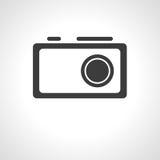 Icône d'appareil-photo Photographie stock libre de droits