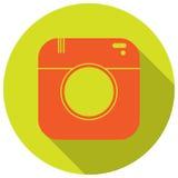 Icône d'appareil-photo Photo libre de droits