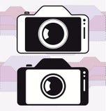Icône d'appareil-photo de photo de téléphone portable de Smartphone Photo libre de droits