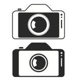 Icône d'appareil-photo de photo de téléphone portable de Smartphone Images libres de droits