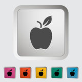 Icône d'Apple Image stock
