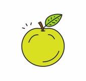 Icône d'Apple illustration stock