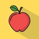 Icône d'Apple Illustration de vecteur illustration de vecteur