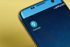 Icône d'application de périscope Photos libres de droits