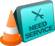 Icône d'application de service de téléphonie Image stock