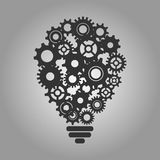 Icône d'apprentissage automatique Image stock