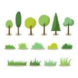 Icône d'arbre Photos libres de droits