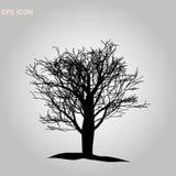 Ic?ne d'arbre Symbole de for?t Le Web plat se connectent le fond blanc Vecteur eps10 illustration de vecteur
