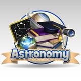 Icône d'astronomie illustration stock