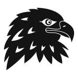 Icône d'Eagle, style simple Photo libre de droits