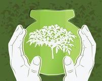 Icône d'Eco Photo libre de droits