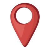 Icône d'emplacement d'indicateur de Pin illustration libre de droits