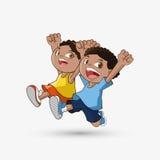 Icône d'enfant Conception d'enfant Concept d'enfance Photographie stock