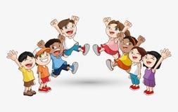 Icône d'enfant Conception d'enfant Concept d'enfance Photos libres de droits