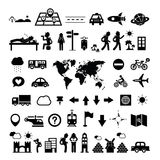 Icône d'explorateur de voyageur illustration de vecteur
