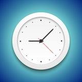 Icône d'horloge de vecteur Photographie stock libre de droits