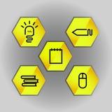 Icône d'idée Photos libres de droits