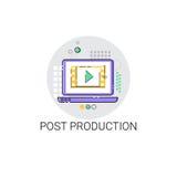 Icône d'industrie de production de courrier de film d'appareil-photo