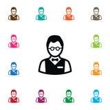 Icône d'investisseur Person Vector Element Image libre de droits