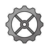 icône d'isolement par machine de vitesse Image stock