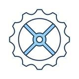 icône d'isolement par machine de vitesse Images libres de droits