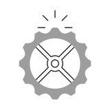 icône d'isolement par machine de vitesse Photo libre de droits