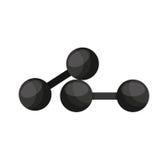 icône d'équipement d'haltérophilie Images libres de droits